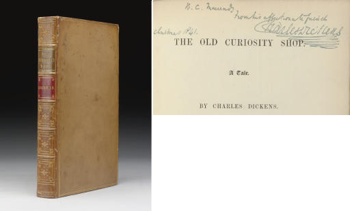 DICKENS, Charles. The Old Curiosity Shop. London: [Bradbury and Evans for] Chapman and Hall, 1841.