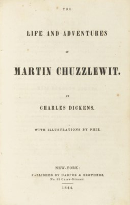 DICKENS, Charles. The Life and