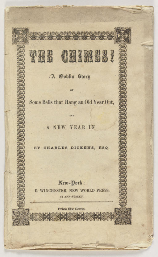 DICKENS, Charles. The Chimes: