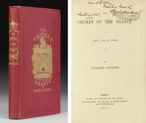 DICKENS, Charles. The Cricket