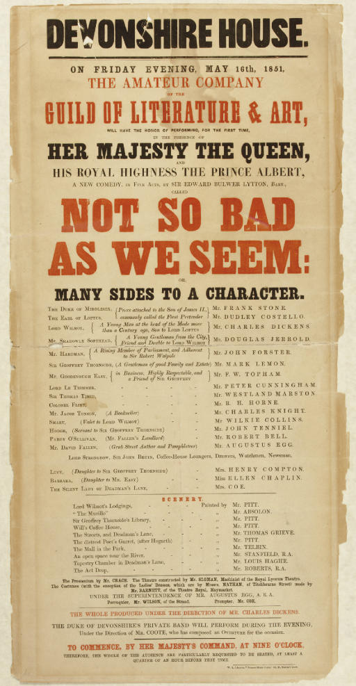 [DICKENS, Charles, Director an