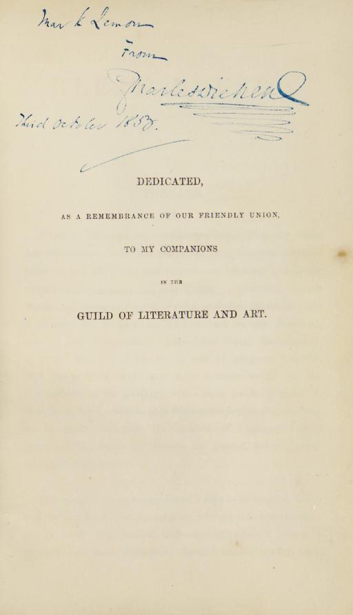 DICKENS, Charles. Bleak House. London: Bradbury and Evans, 1853.
