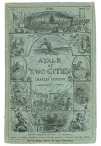 DICKENS, Charles. A Tale of Two Cities. London: Chapman and Hall, 1859.