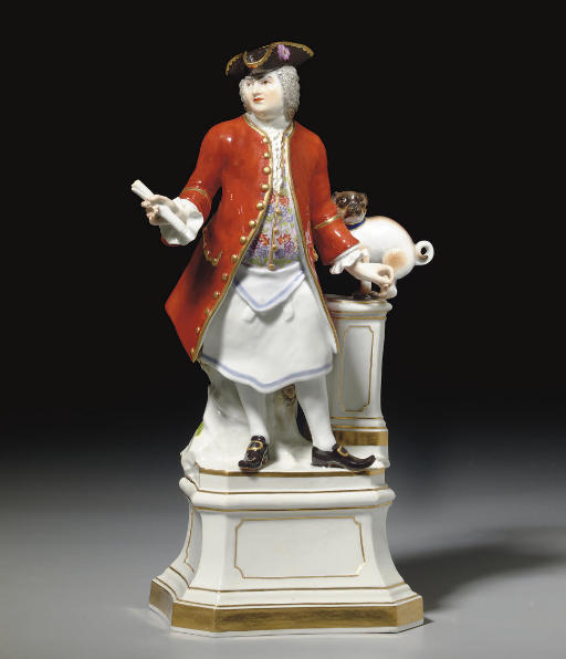 A MEISSEN MODEL OF A FREE MASO