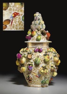 A JACOB PETIT FRUIT AND FLOWER