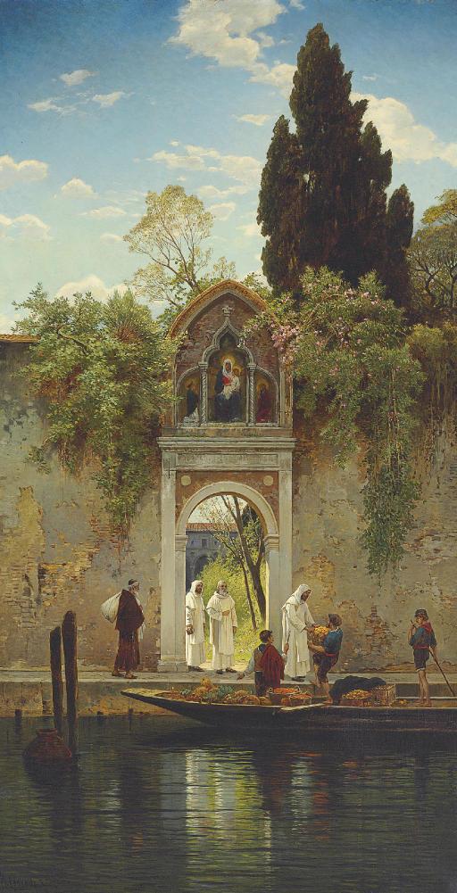 L'Arrivo del fruitivendolo in convento à Venezia