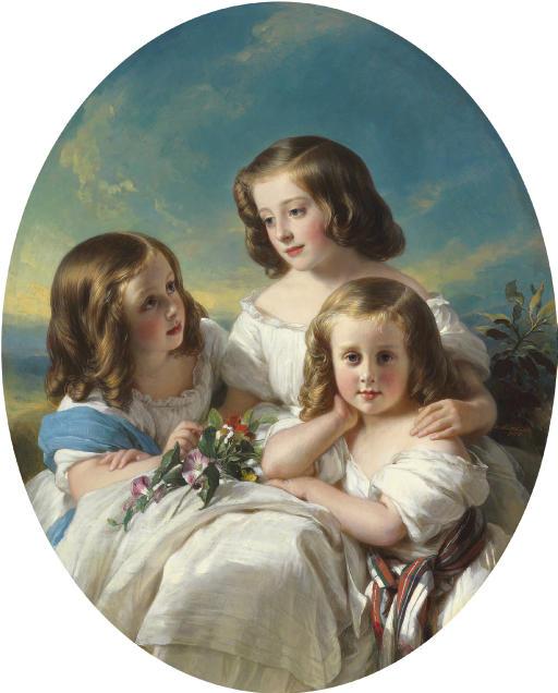 Trois demoiselles de la famille de Châteaubourg