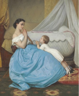 Auguste Toulmouche (French, 18