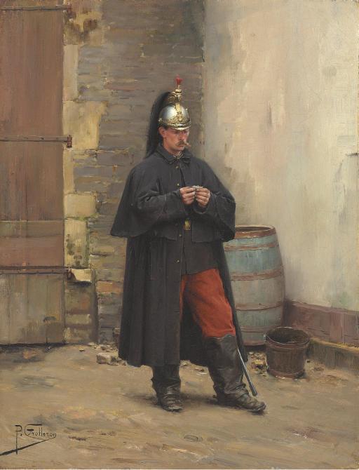 A Guard's Rest