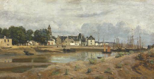 Un port de mer en Bretagne
