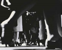 Running Legs, NYC, 42nd Street, c. 1940-41