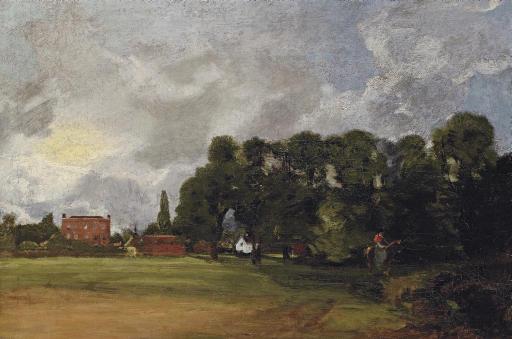 John Constable, R.A. East Berg