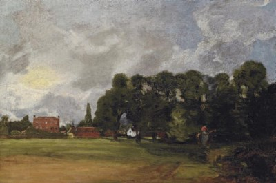 John Constable, R.A. East Berg