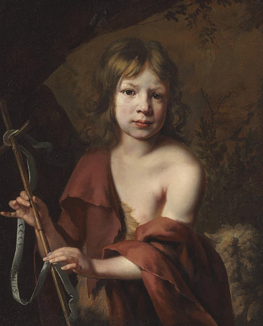 Portrait of a boy as Saint John the Baptist