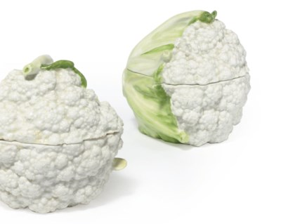 A PAIR OF CHELSEA CAULIFLOWER