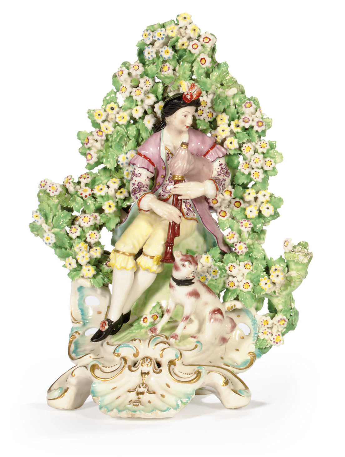 A DERBY BOCAGE FIGURE OF A SHE