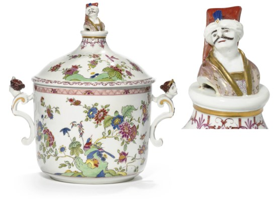 A MEISSEN KAKIEMON TUREEN AND