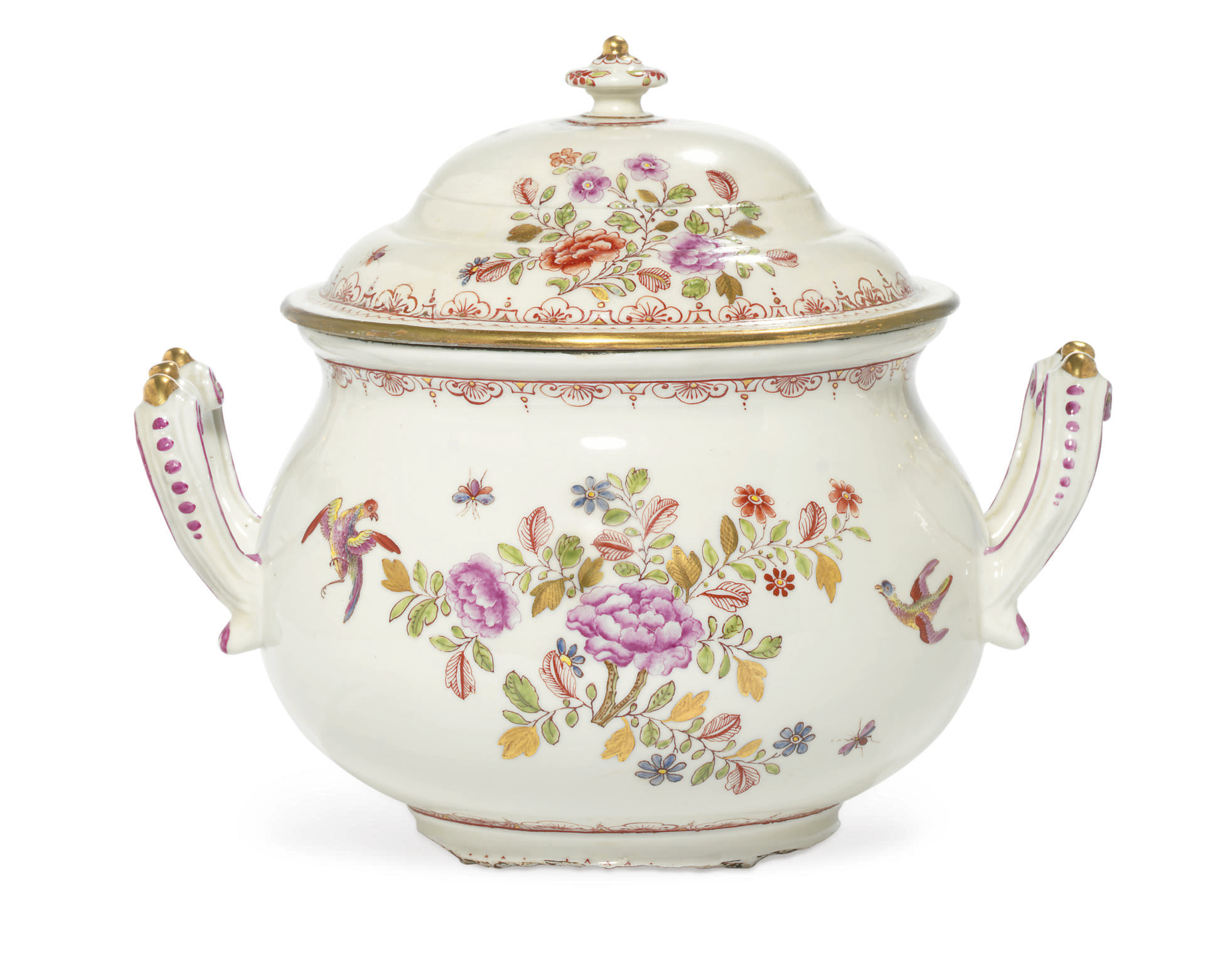 A VIENNA (DU PAQUIER) POT AND
