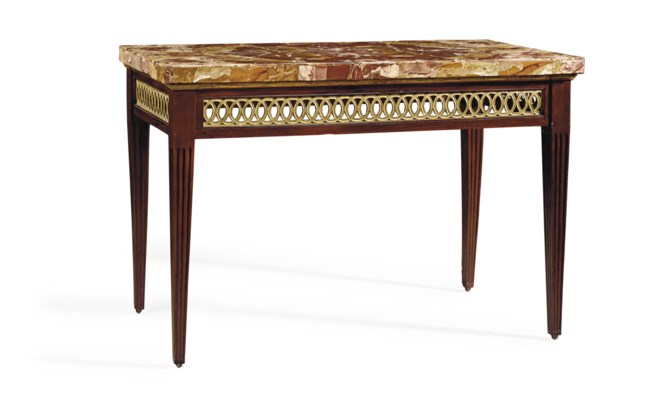AN ITALIAN STAINED FRUITWOOD A