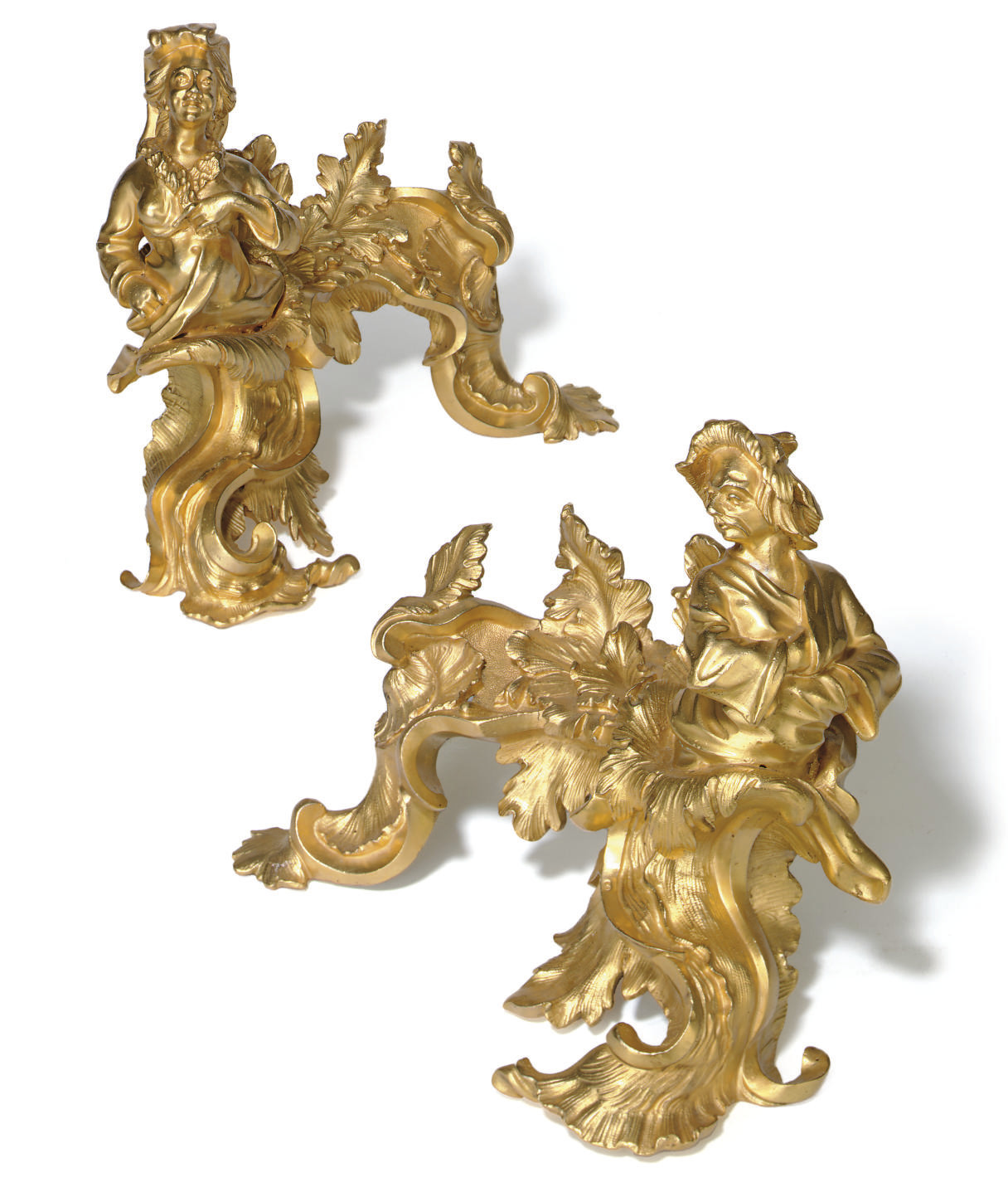 A PAIR OF REGENCE ORMOLU CHENE