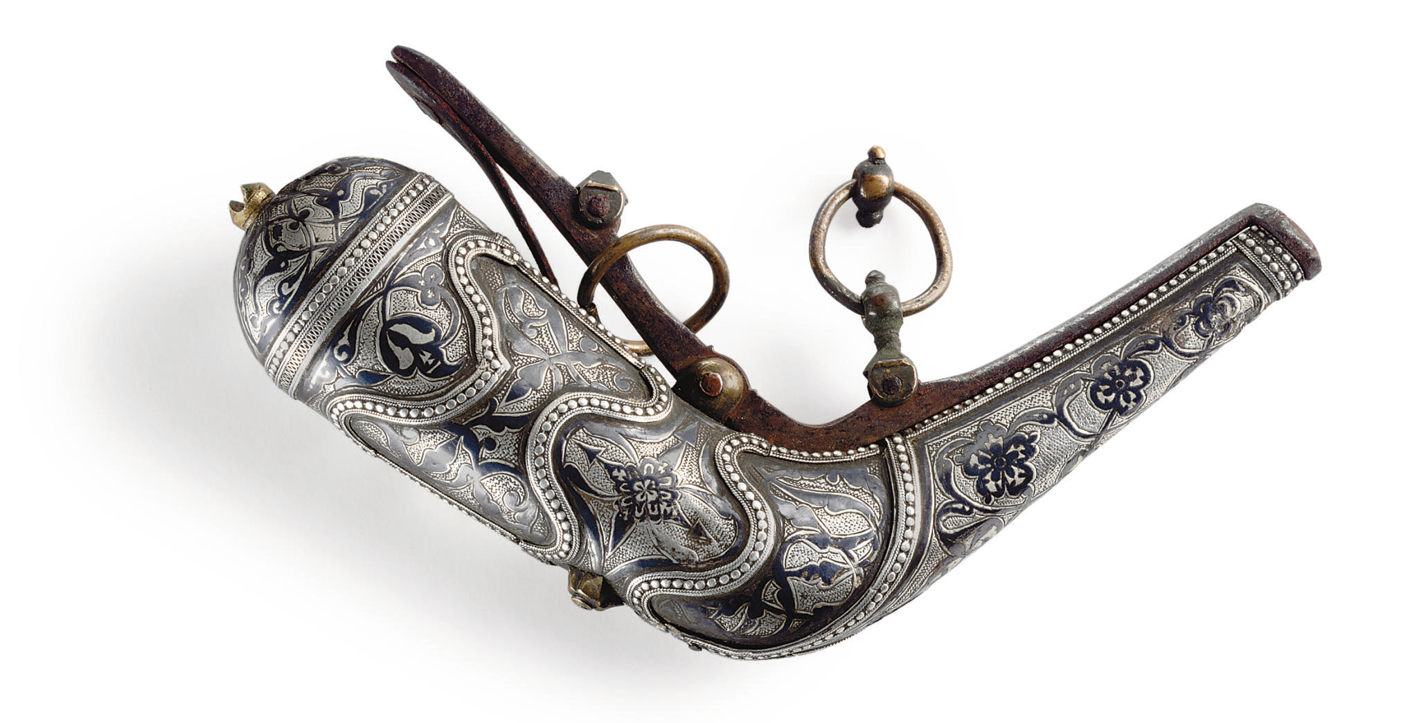 A Caucasian Silver-Mounted Pri