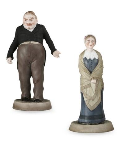 A Porcelain Figure of Sobakevi