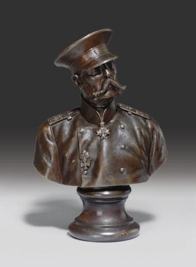 A Bronze Bust of Alexander II