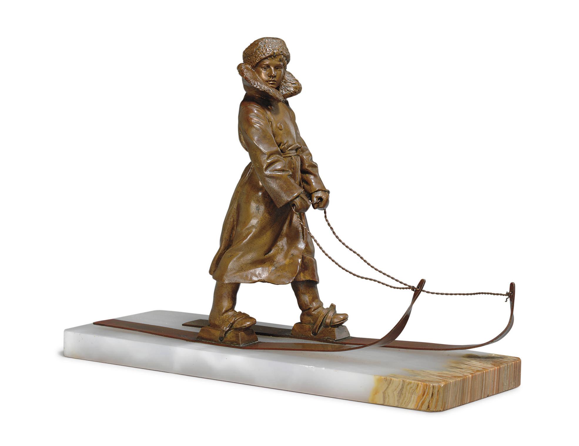 A Bronze Figure of Tsarevich A