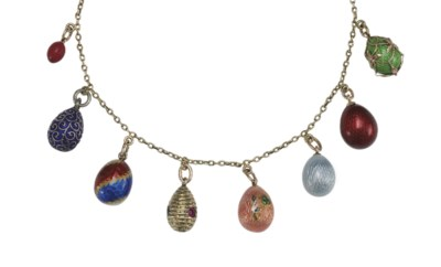 A Necklace of Eight Jeweled Go