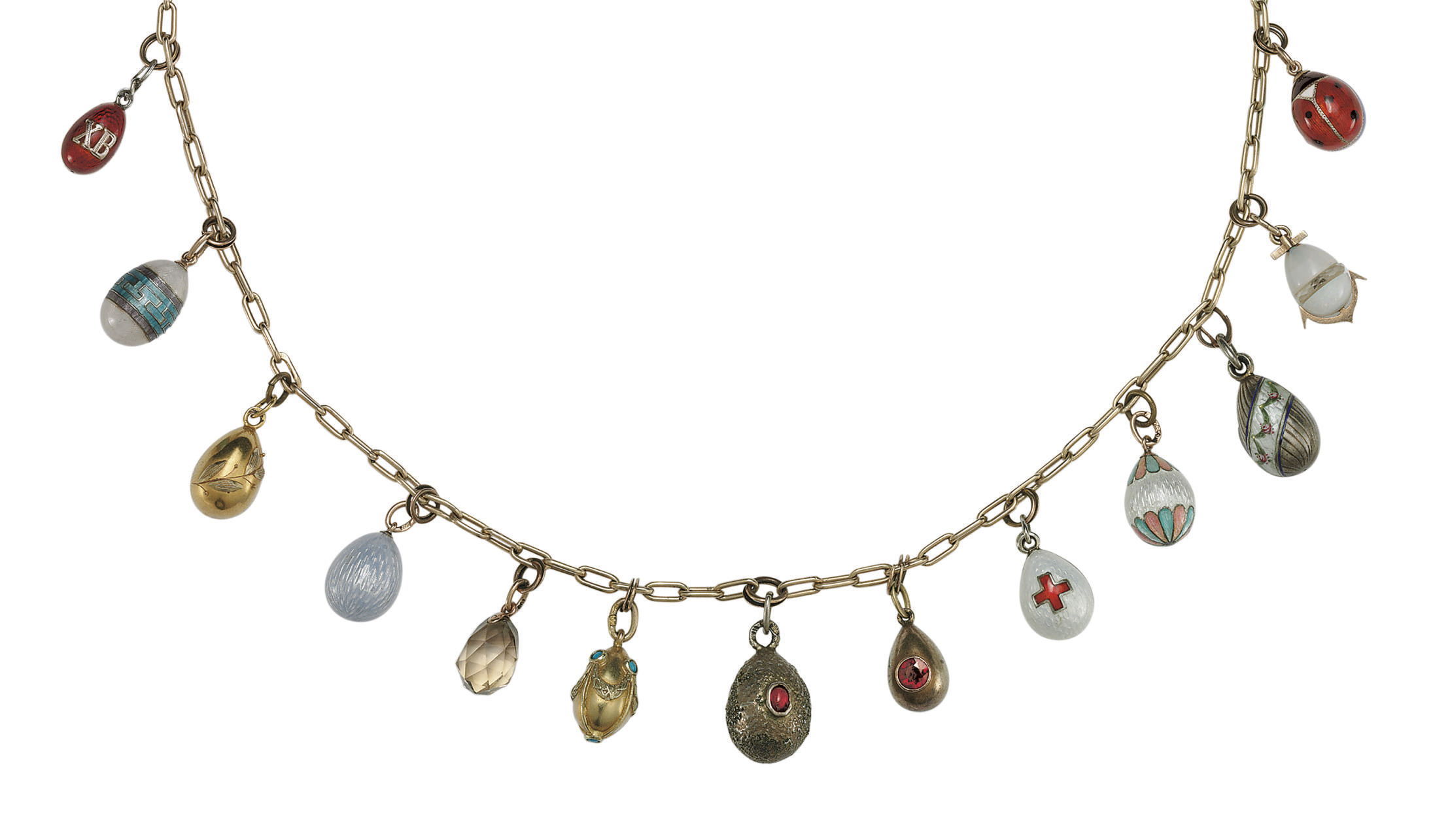 A Necklace of Thirteen Gold, S