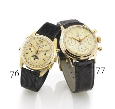 TOURNEAU. AN 18K GOLD TRIPLE C