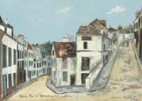 Pontoise. Rue de l'Eperon et rue de la Coutellerie