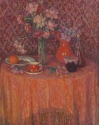 Le table, harmonie rouge