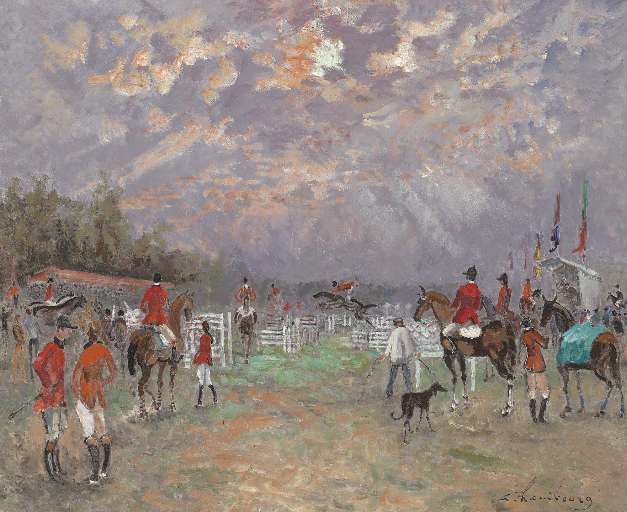 Concours Hippique à Deauville