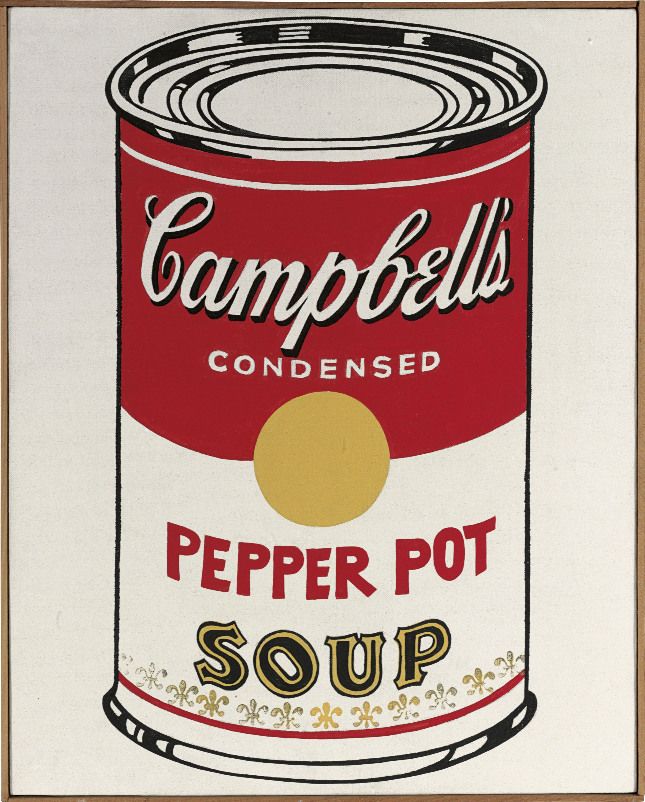 andy warhol 1928 1987 campbell 39 s soup can pepper pot. Black Bedroom Furniture Sets. Home Design Ideas