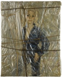 Wrapped Portrait of Holly