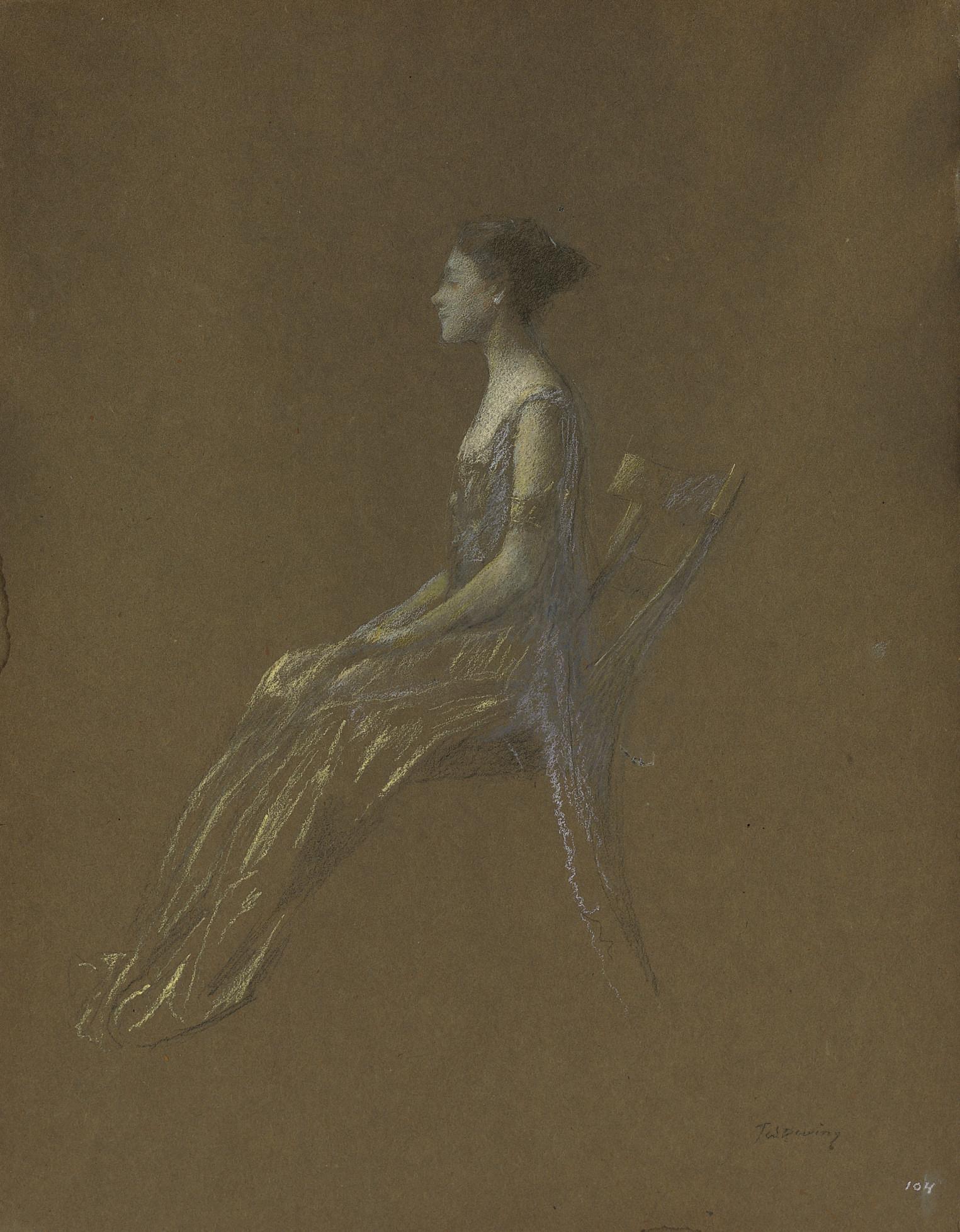 Thomas Wilmer Dewing (1851-193