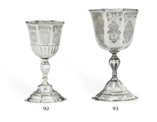 A GERMAN SILVER KIDDUSH CUP