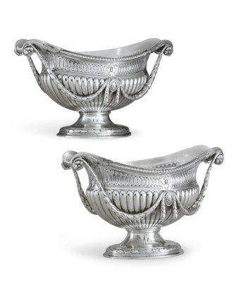 AN IMPORTANT PAIR OF GEORGE II