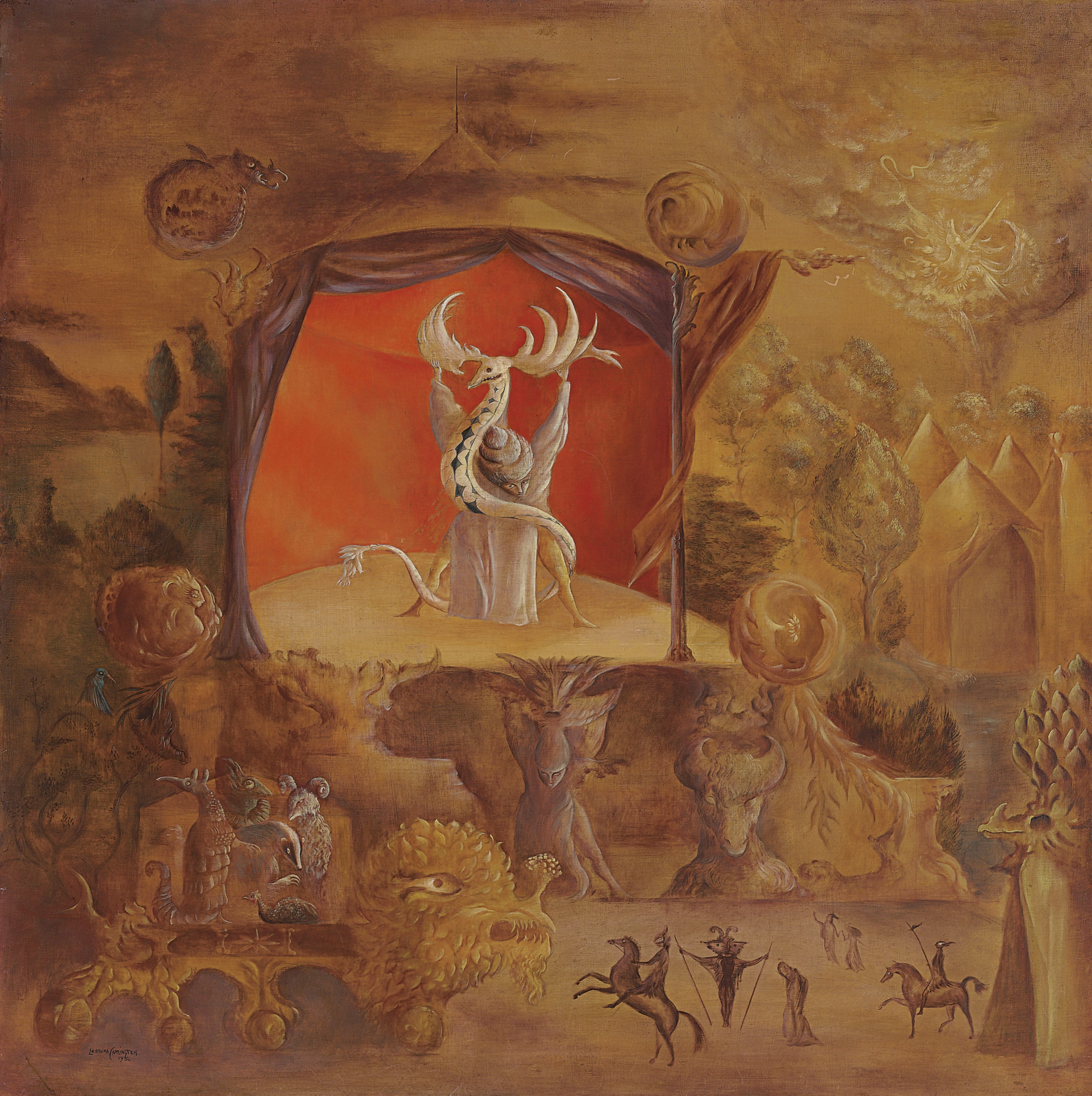 Leonora Carrington (English/Mexican b. 1917)