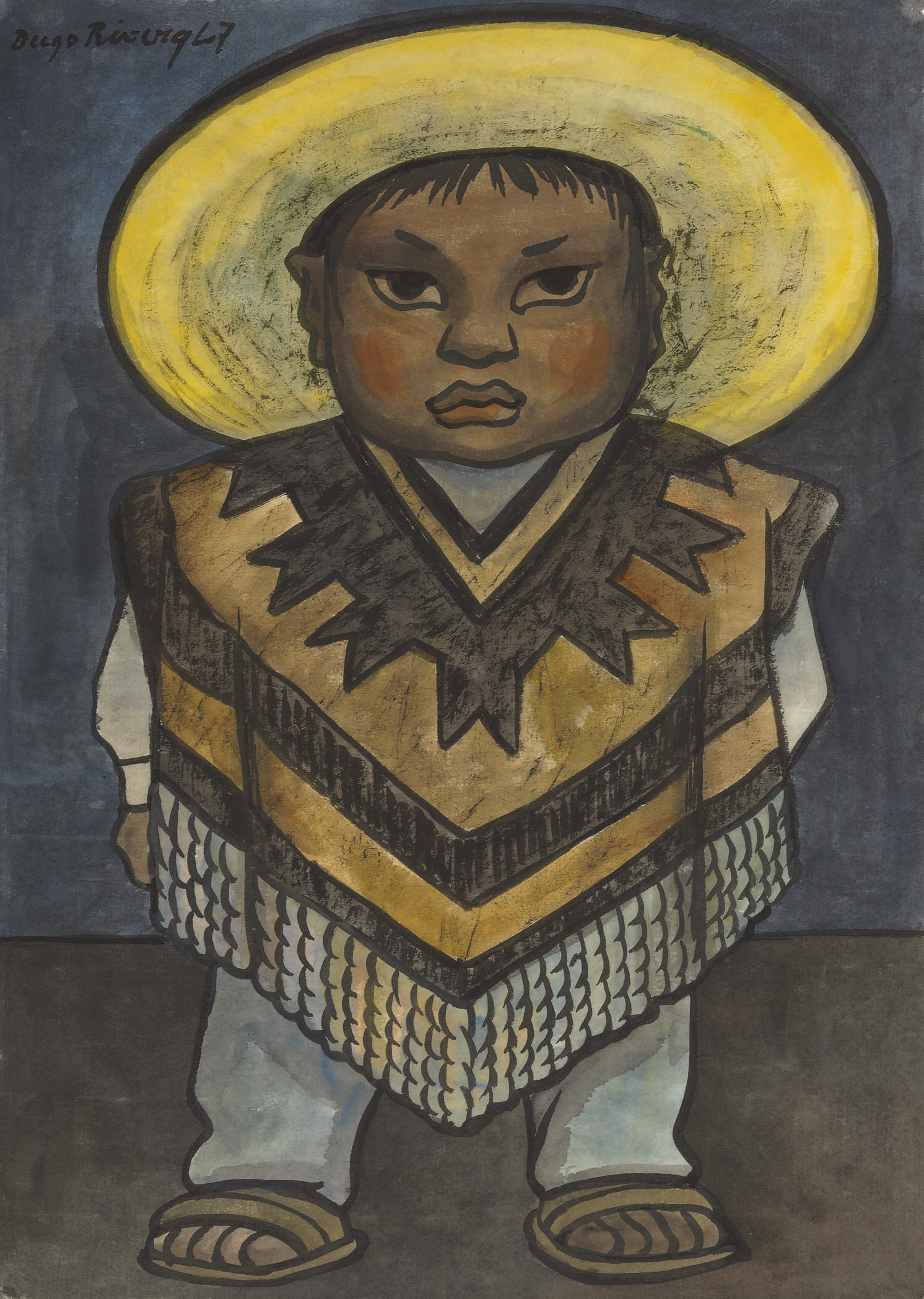 Diego Rivera (Mexican 1886-195