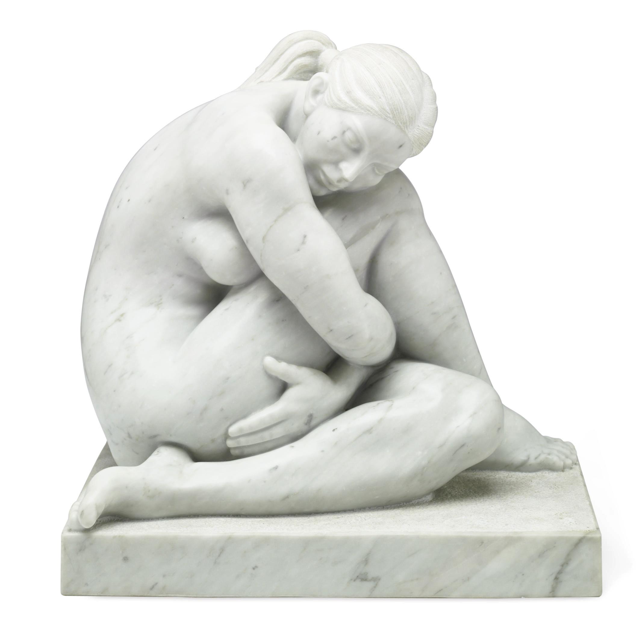 Untitled (Sitting Nude)