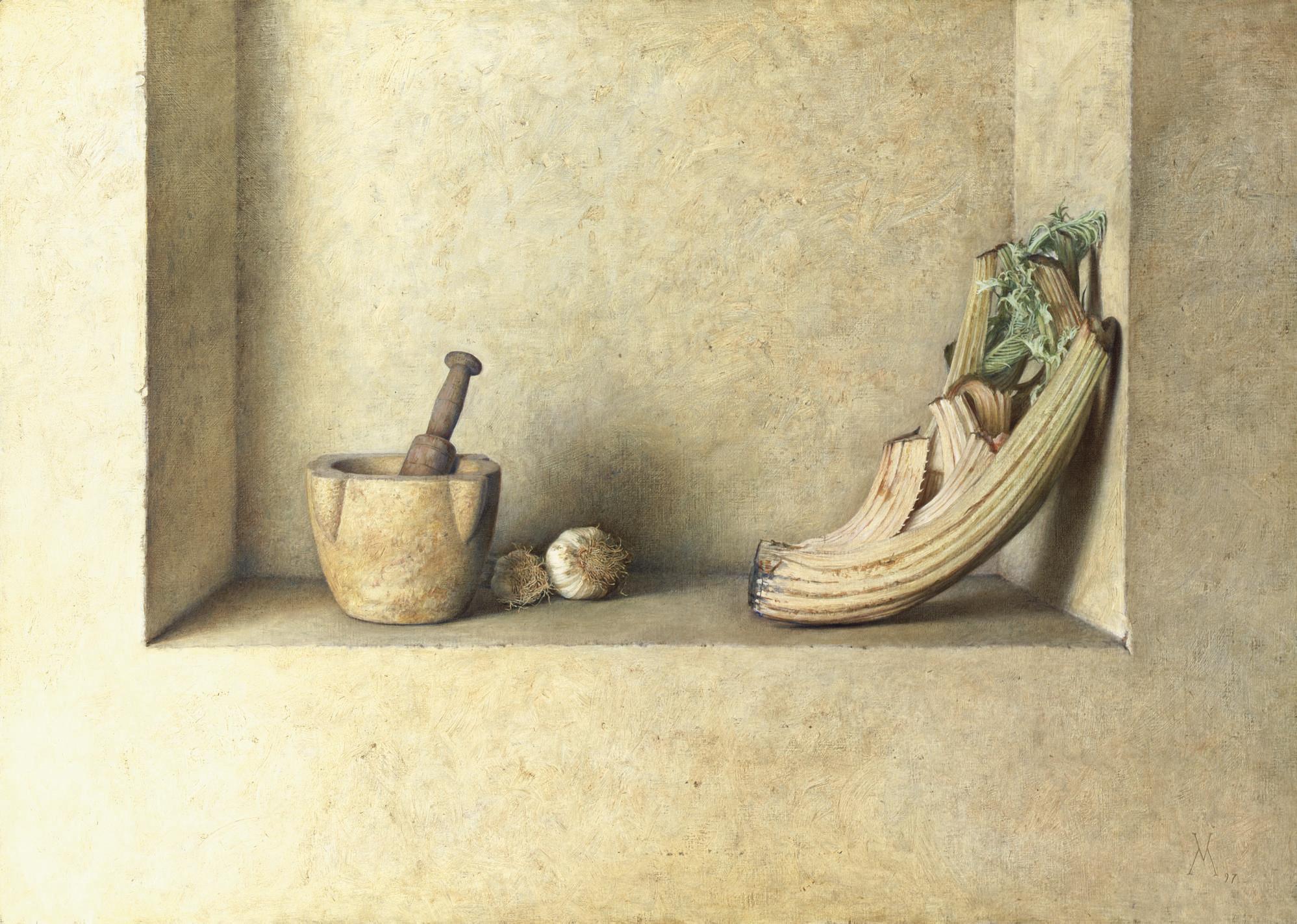 Still-Life with Thistle (Bodegón con cordo)