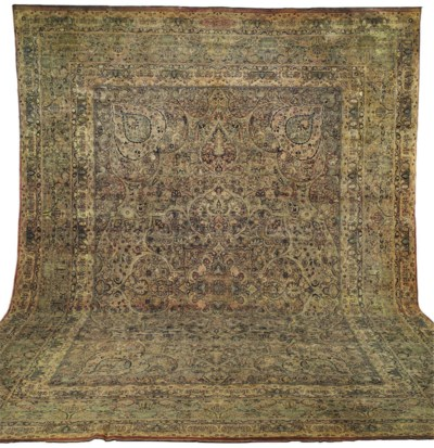 A LAVAR KIRMAN CARPET