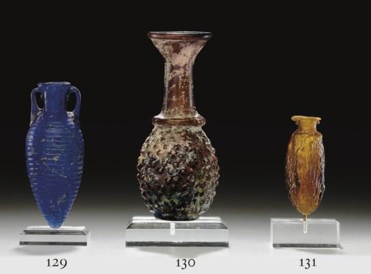 A ROMAN GLASS AMPHORISKOS