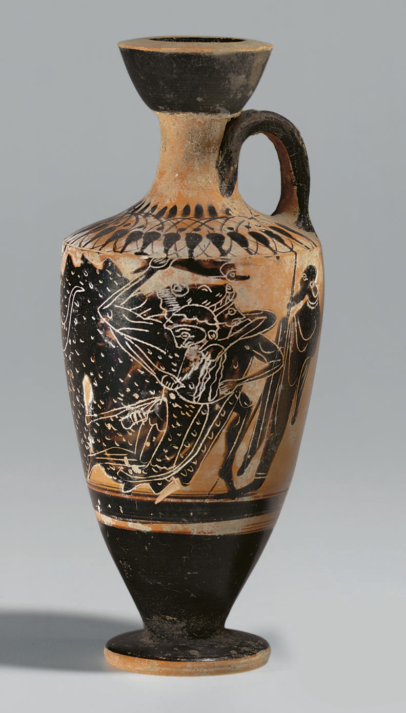 AN ATTIC BLACK-FIGURED LEKYTHOS