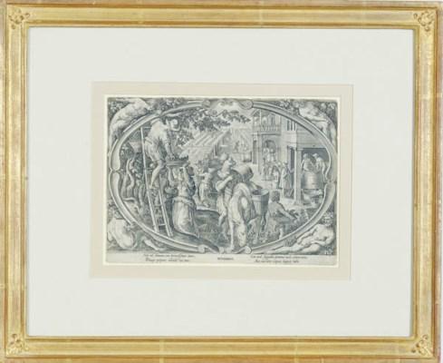 After Johannes Stradanus (1523
