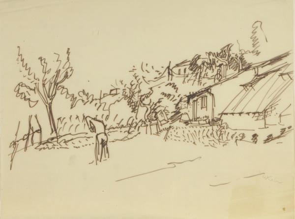 Wolf Kahn (AMERICAN, b. 1927)