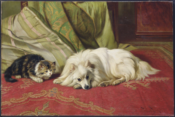 Wright Barker (British, fl. 18