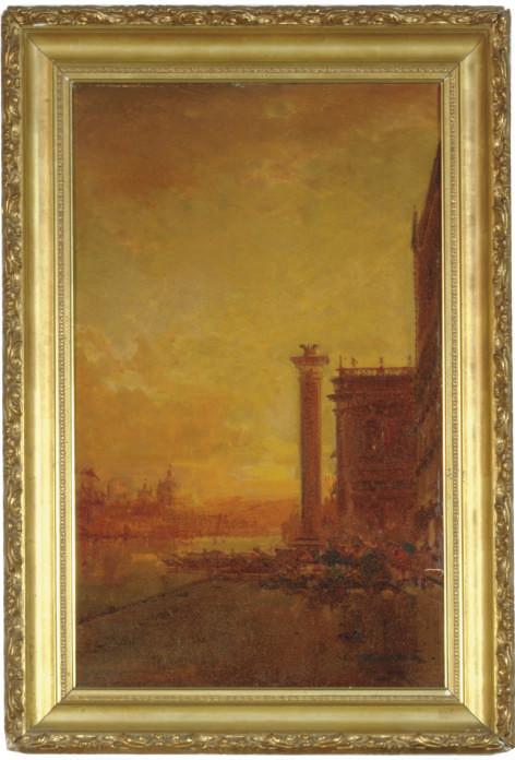 The Riva degli Schiavoni, Venice